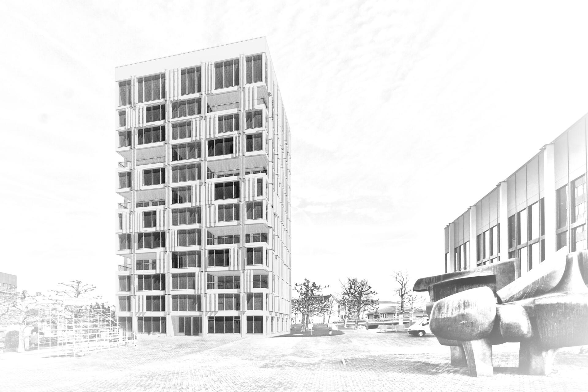 Projektarbeit Hochhaus
